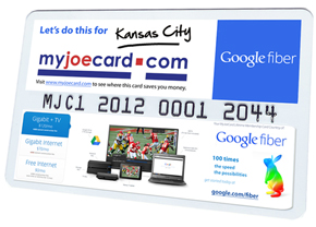 Go Green with MyJoeCard
